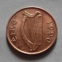 1 пенни, Ирландия 1990 г.