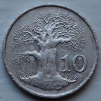 Зимбабве, 10 центов 1994 г