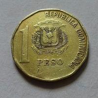 1 песо, Доминиканская республика (Доминикана) 1991 г.