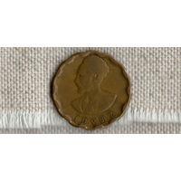 Эфиопия 25 центов 1944 //(ON)