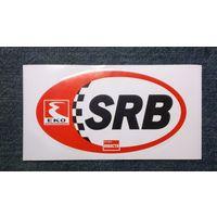 """Наклейка на авто """"SRB"""", Сербия"""