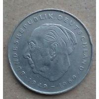 ФРГ монета 2 марки 1971