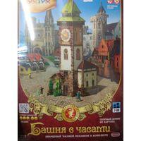 Сборная модель из картона Башня с часами