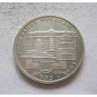 Германия 10 марок 1993 1000 лет городу Потсдам