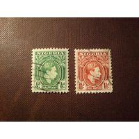 Британская Нигерия 1938 г.Георг VI.