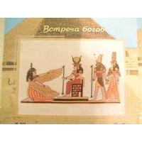 """Схемы для вышивания крестом """"Египет"""",(Встреча Богов.Путешествие по Нилу)"""