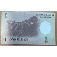1 дирам 1999 года - Таджикистан - UNC