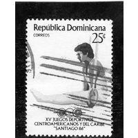 Доминиканская республика. XV Центральноамериканские игры. Сантьяго (Чили) 1986