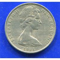 Новая Зеландия 20 центов 1973