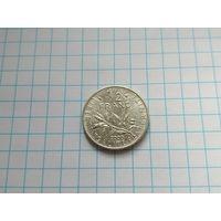 1/2 франка 2000 Франция