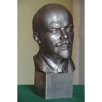 Бюст Ленин   ( силумин ) 27 см