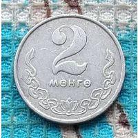 Монголия 2 менге 1970 года.