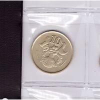 10 центов 1988 Кипр. Возможен обмен