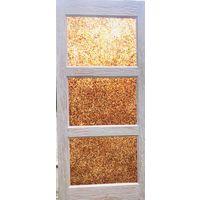 Дверь ручной работы - инкрустация балтийский янтарь - индивидуальные размеры