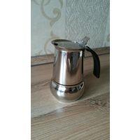 Гейзерная кофеварка от Цептер, на 2 чашки кофе.
