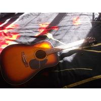 Акустическая гитара MARTINEZ FAW-702 от БИ-2.