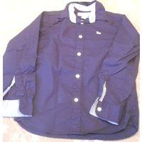 Стильная рубашка H&M на рост 134 см