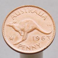 Австралия 1 пенни 1963
