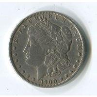 Морган доллар 1900 о