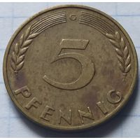 Германия 5 пфеннигов, 1967          G         ( 6-6-2 )