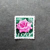 Марка США 1988 год