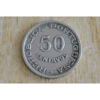 Сан-Томе и Принсипи 50 сентаво 1951 Нечастая!