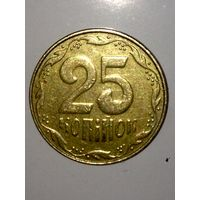 Монета Украины 25 копеек 2009