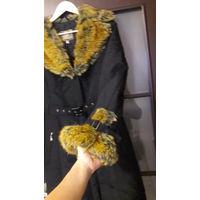 Зимнее пальто 42-44 разм