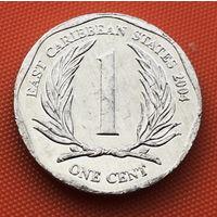 116-23 Восточные Карибы, 1 цент 2004 г.