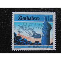 Зимбабве 1985г. Добыча ископаемых.