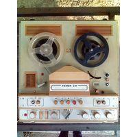 Магнитофон Тембр 1980 г стерео бобинный катушечный бобинник