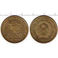 Вьетнам 5000 донгов 2003 aUNC