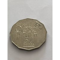 50 цент,  Международный год семьи, 1994 г., Австралия