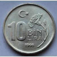 Турция, 10.000 лир, 1998 г.