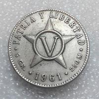 5 сентаво 1961 Куба #04