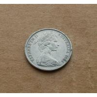 Австралия, 5 центов 1984 г., молодая королева