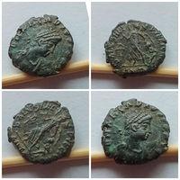 Древний Рим. Феодосий I!!! Редкая, замечательная сохранность!!! XF++>AU!!! Из коллекции в коллекцию!!!
