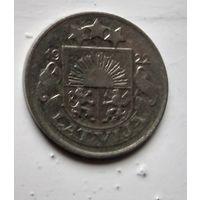 Латвия 10 сантимов, 1922 1-8-12