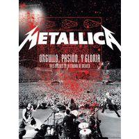 DVD Metallica - Orgullo, Pasion, Y Gloria - Tres Noches En La Ciudad De Mexico (30 Nov 2009)а
