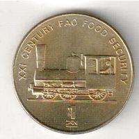 Северная Корея 1 чон 2002 Паровоз