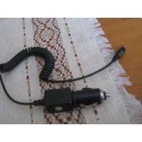Автомобильное зарядное устройство с сигнализацией