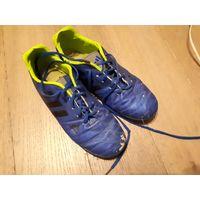 Сороконожки, бампы Adidas Nitrocharge 3. Обувь для футбола.