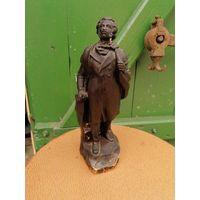 Статуэтка Пушкин Папье-маше 1950-е, с Рубля