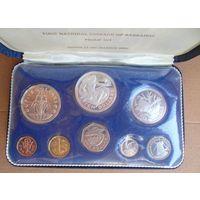 Барбадос. Набор монет 1973г.