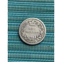 Великобритания 1 шиллинг 1856 г.