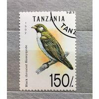 Танзания.1992г.Птицы.