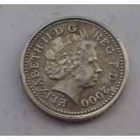 5 пенсов, Великобритания 2000 г.
