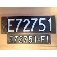 Автомобильные номера Италия (Флоренция)