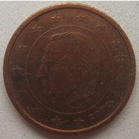 Бельгия 2 евроцента 2000 г.
