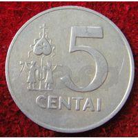 7372:  5 центов 1991 Литва